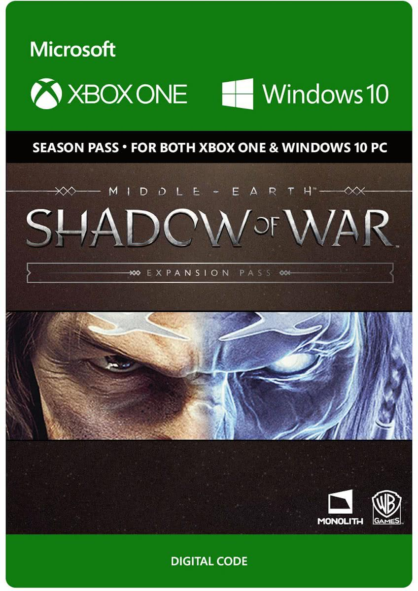 Middle-Earth: Shadow of War: Expansion Pass - Xbox One and Win 10 - Season Pass