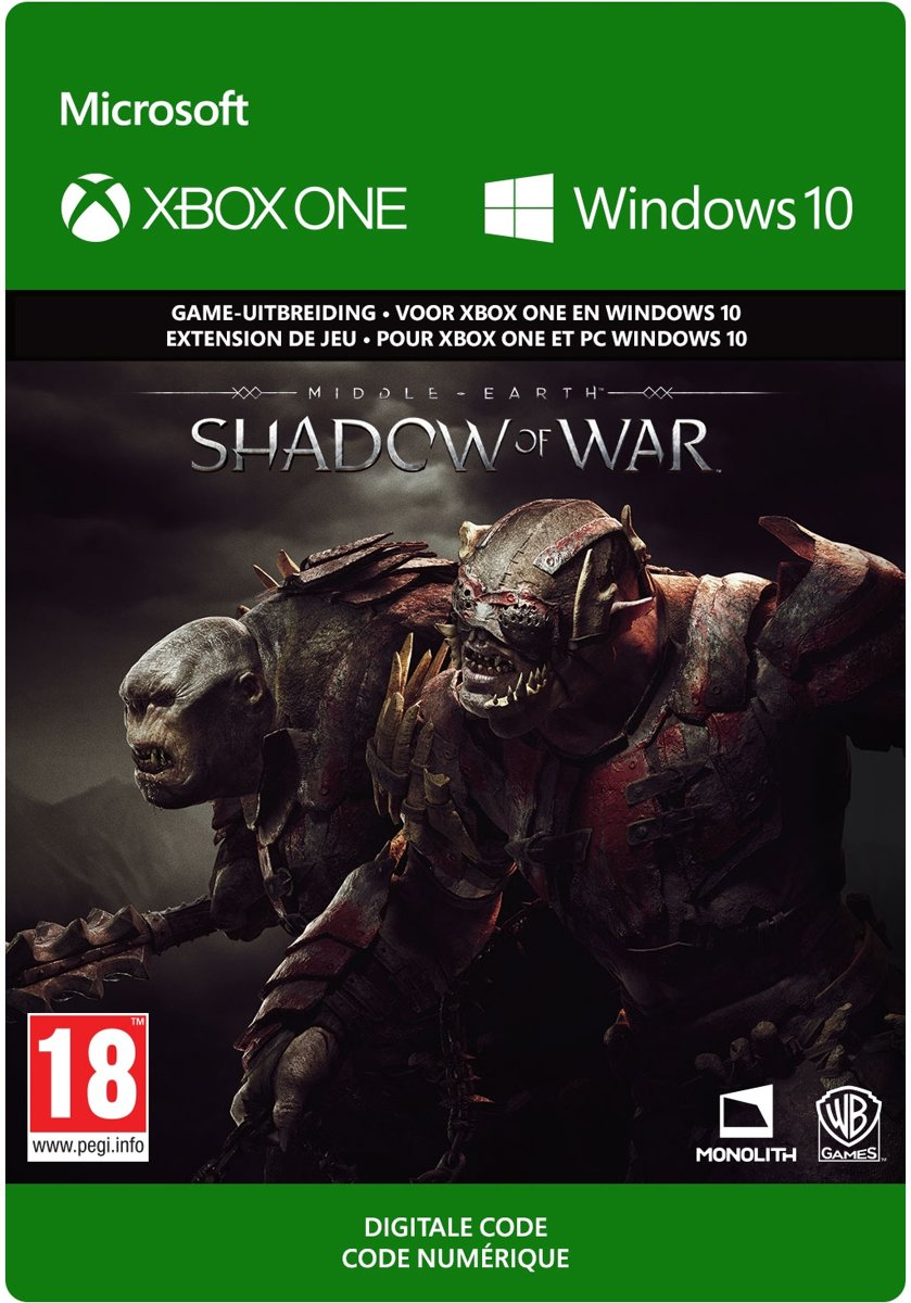 Middle-earth: Shadow of War - Outlaw Tribe Nemesis Expansion - Add-on - Xbox One / Windows 10
