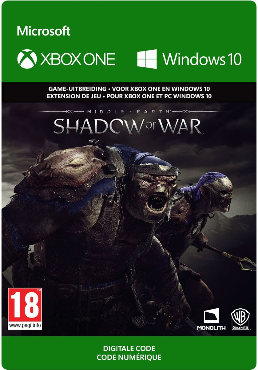 Middle-earth: Shadow of War - Slaughter Tribe Nemesis Expansion - Add-on - Xbox One / Windows 10