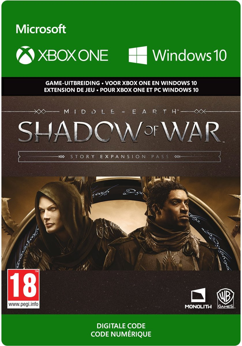 Middle-earth: Shadow of War - Story Expansion Pass - Add-on - Xbox One / Windows 10