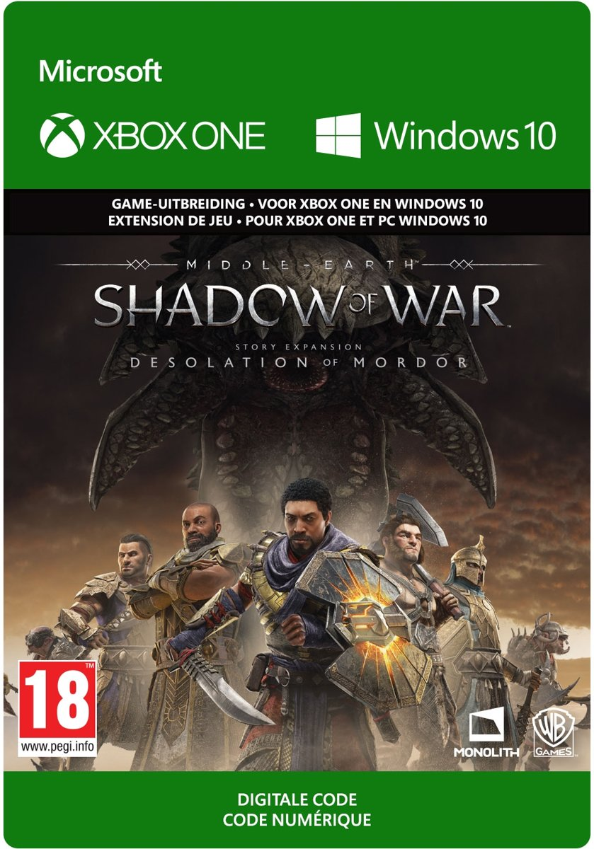 Middle-earth: Shadow of War - Story Expension Pass - Xbox One / Windows 10