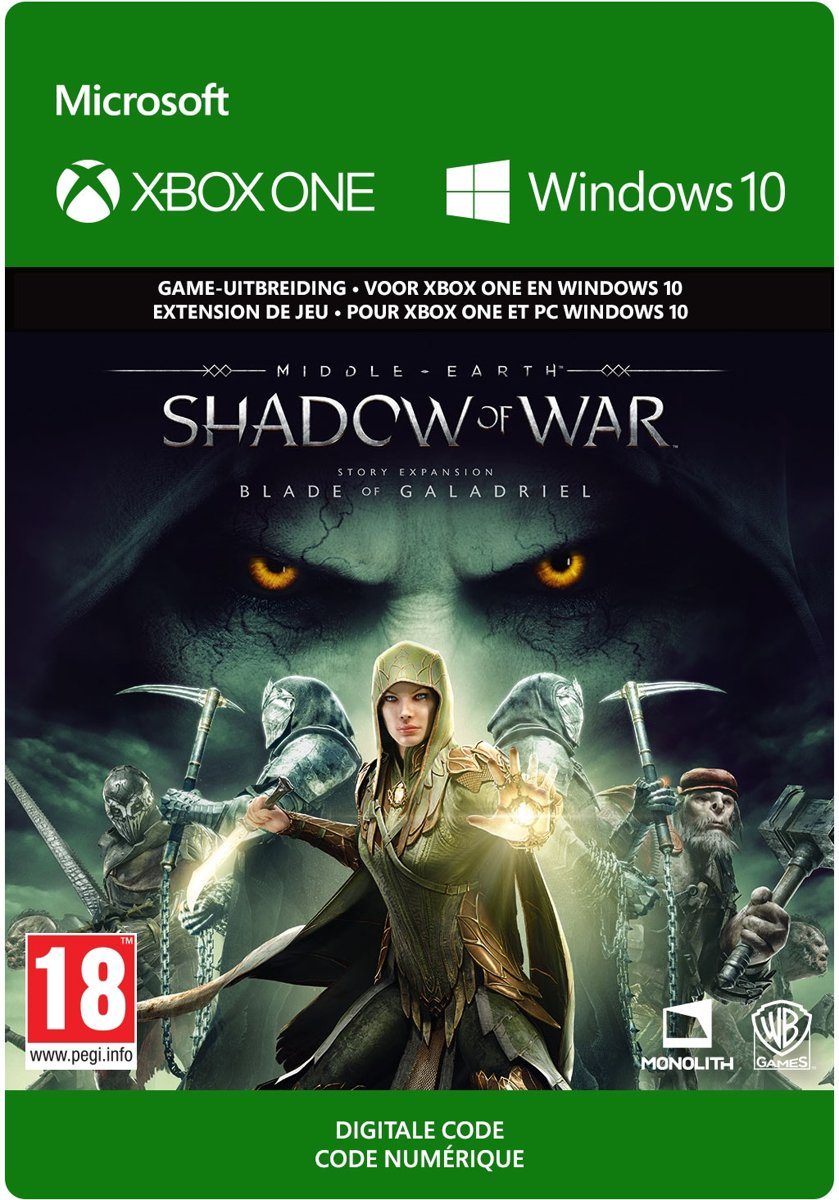 Middle-earth: Shadow of War - The Blade of Galadriel Story Expansion - Add-on - Xbox One/ Windows 10