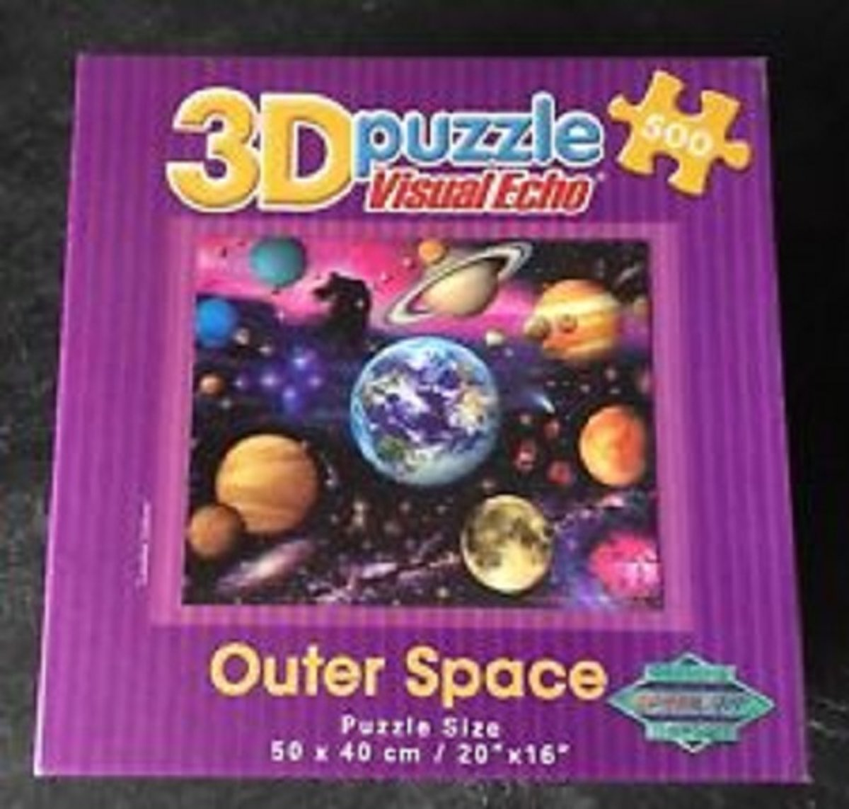 Outer Space 3D puzzel