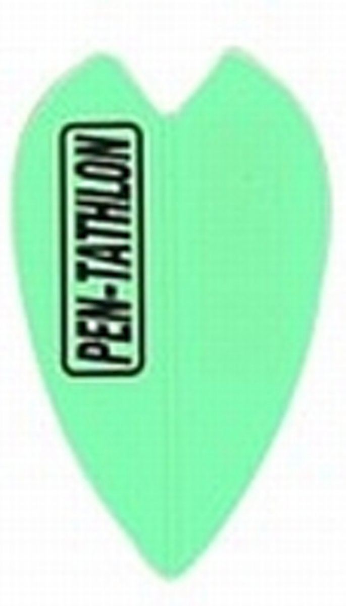 Pentathlon Poly Fluro Green Vortex  Set à 3 stuks