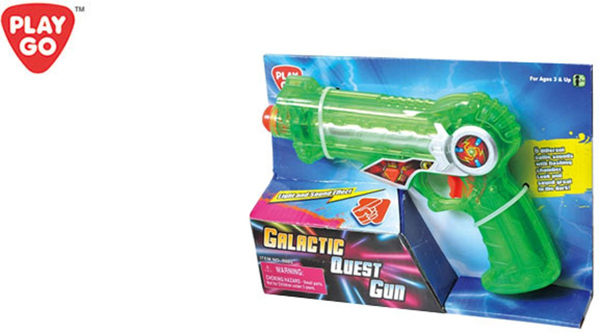 Playgo Galactic Quest Gun