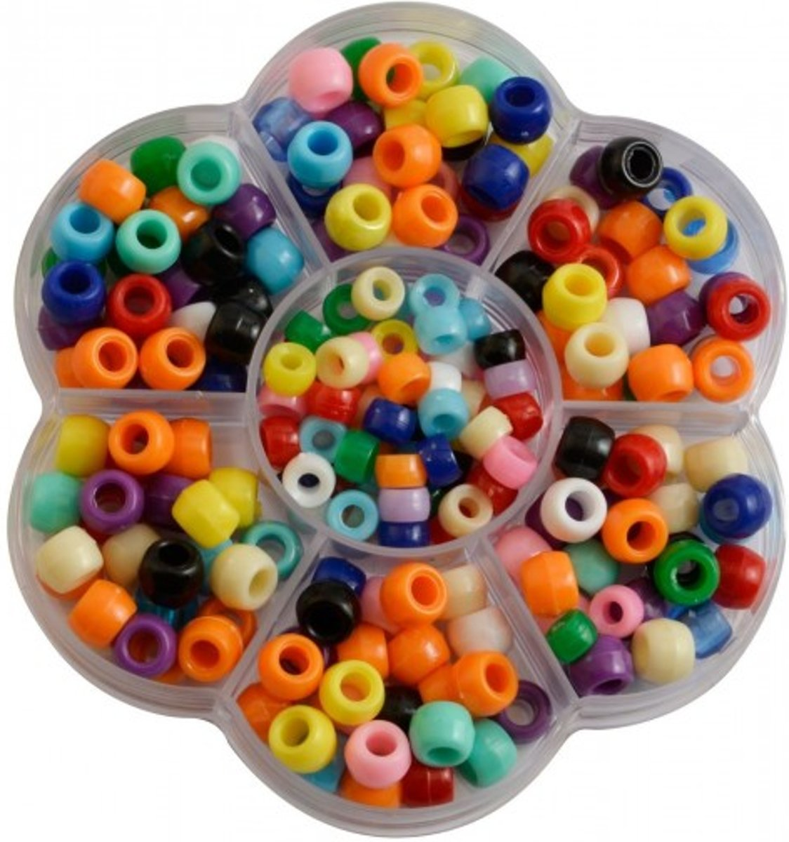 Pony-beads kit assorted (for bracelet loops)