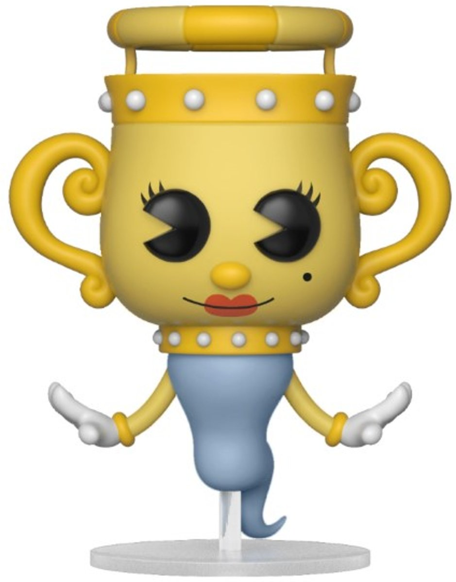 Pop Cuphead Legendary Chalice Vinyl Figure