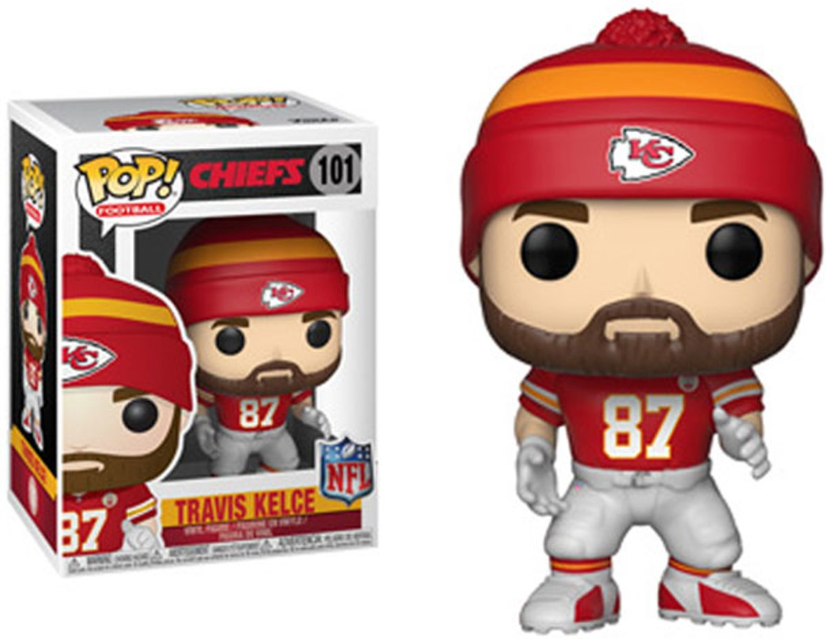 Pop NFL Chiefs Travis Kelce Vinyl Figure