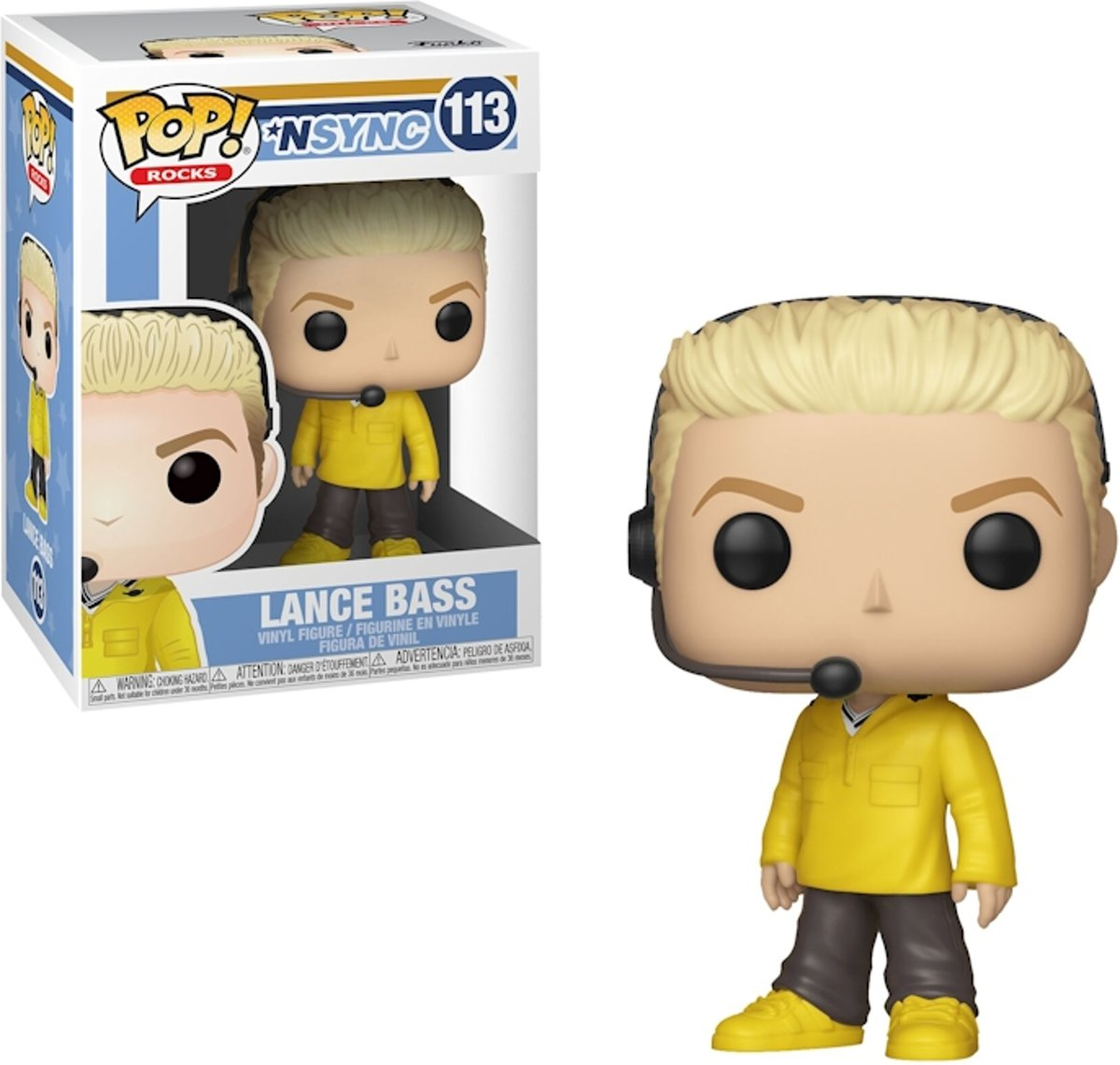 Pop Nsync Lance Bass Vinyl Figure