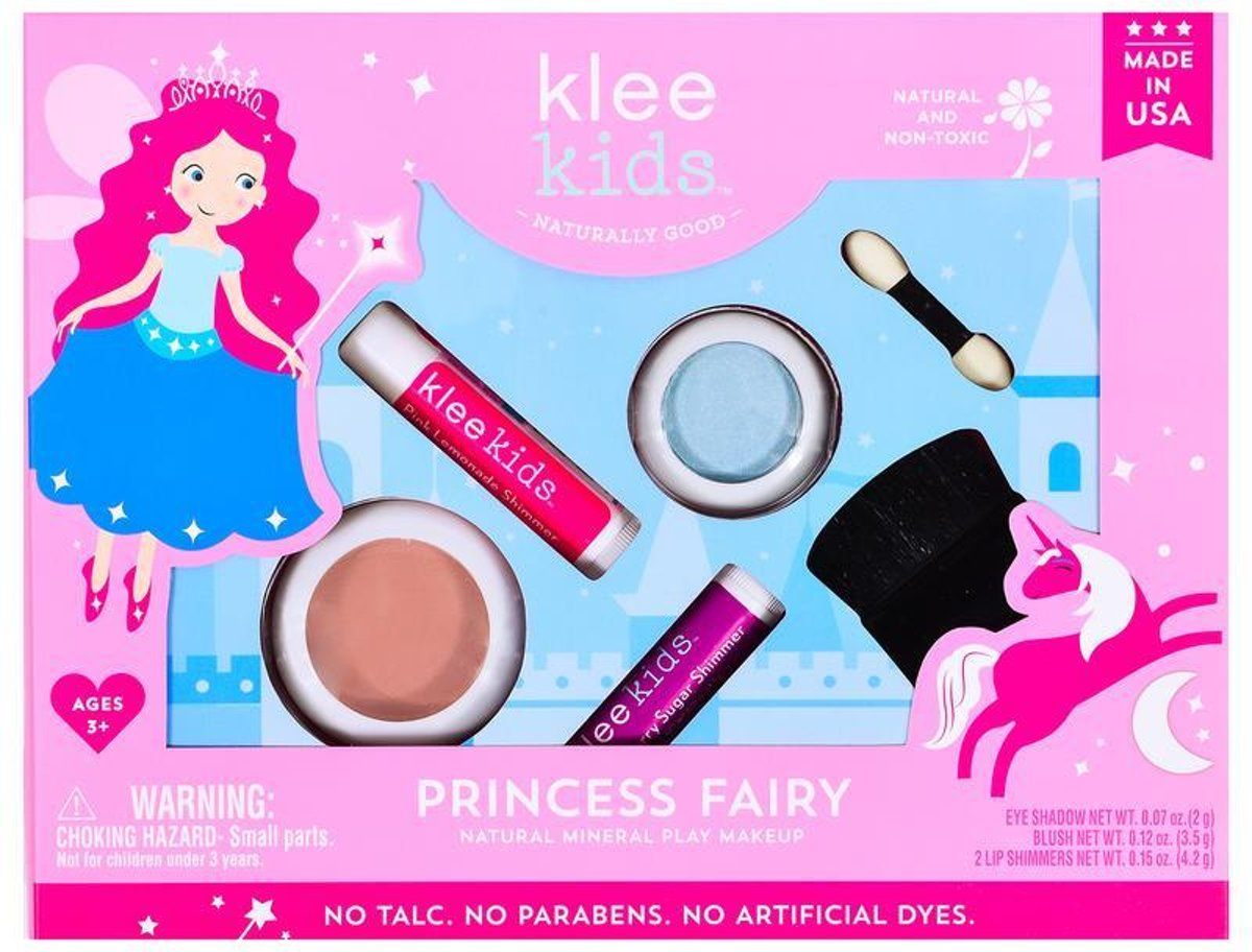 Princess Fairy - 100% natuurlijke kinder speel make up set