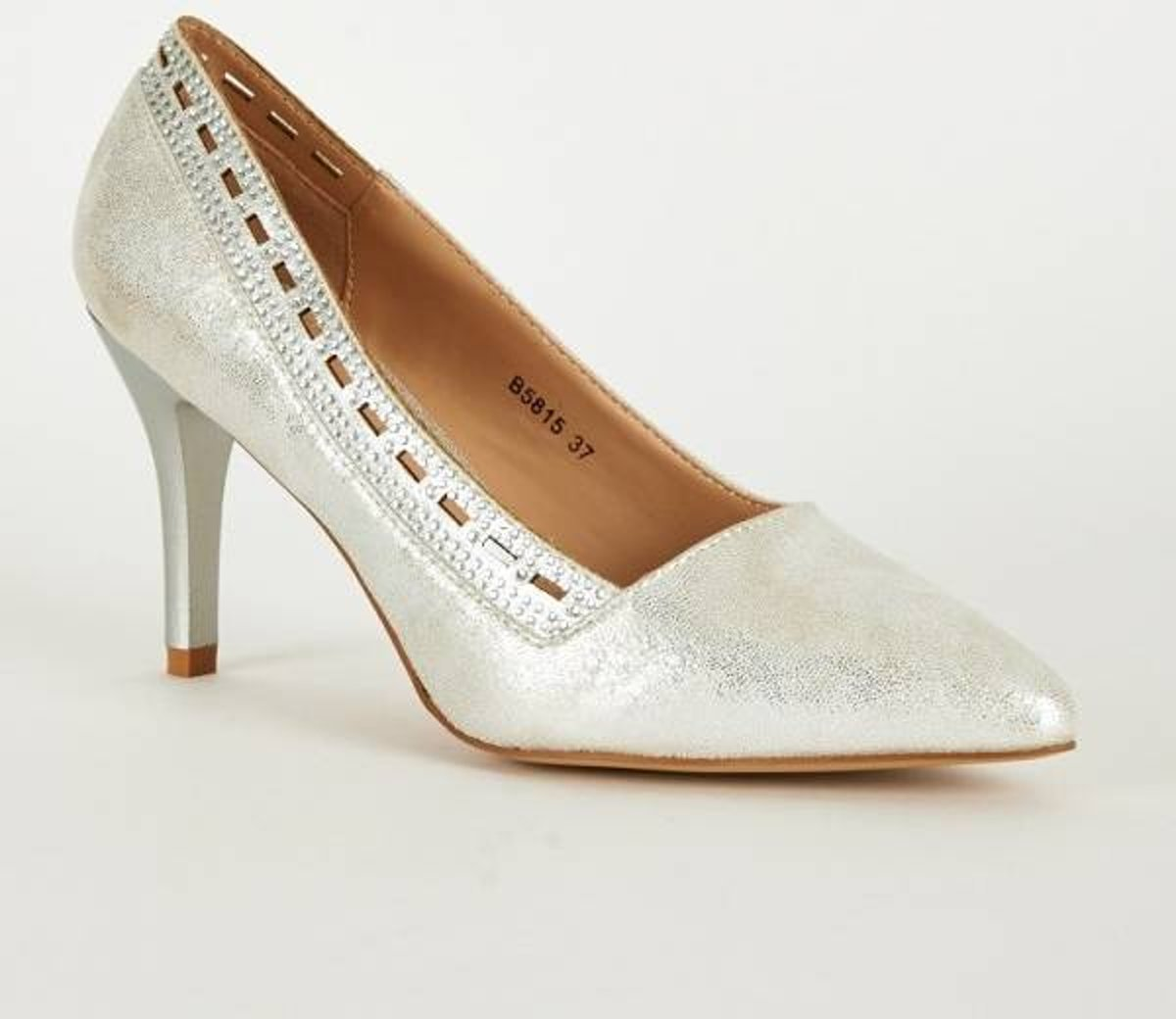 Pumps - High Heels - Zilver - Belle Women - Maat 36