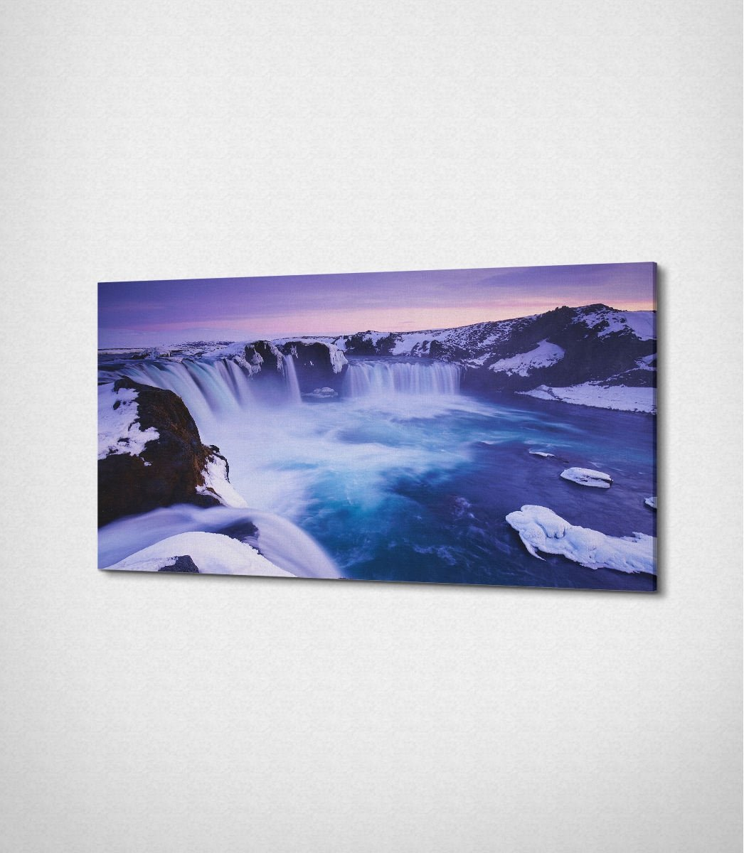 Purple Waterfalls | 100x45 cm | 2 cm