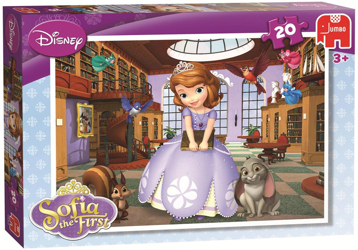 Puzzel Disney Sofia the first 20 stukjes