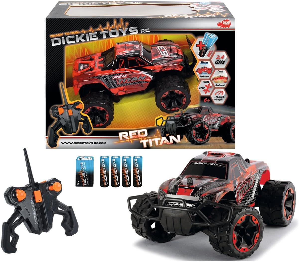 RC Red Titan