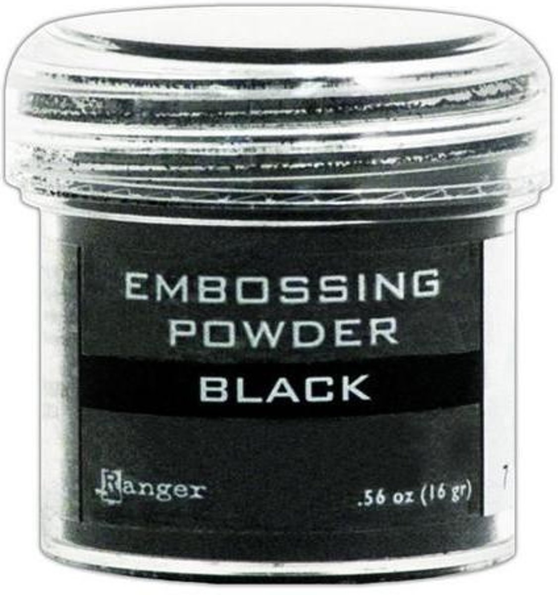 Ranger Embossing Powder 34ml - black