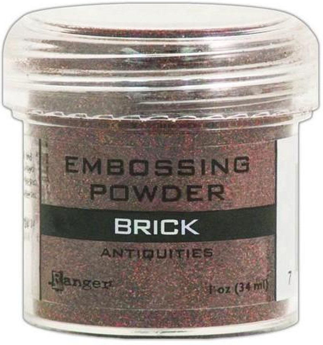 Ranger Embossing Powder 34ml - brick