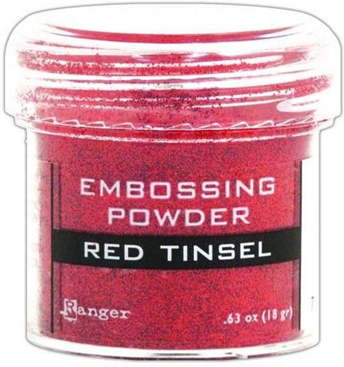Ranger Embossing Powder 34ml - red tinsel