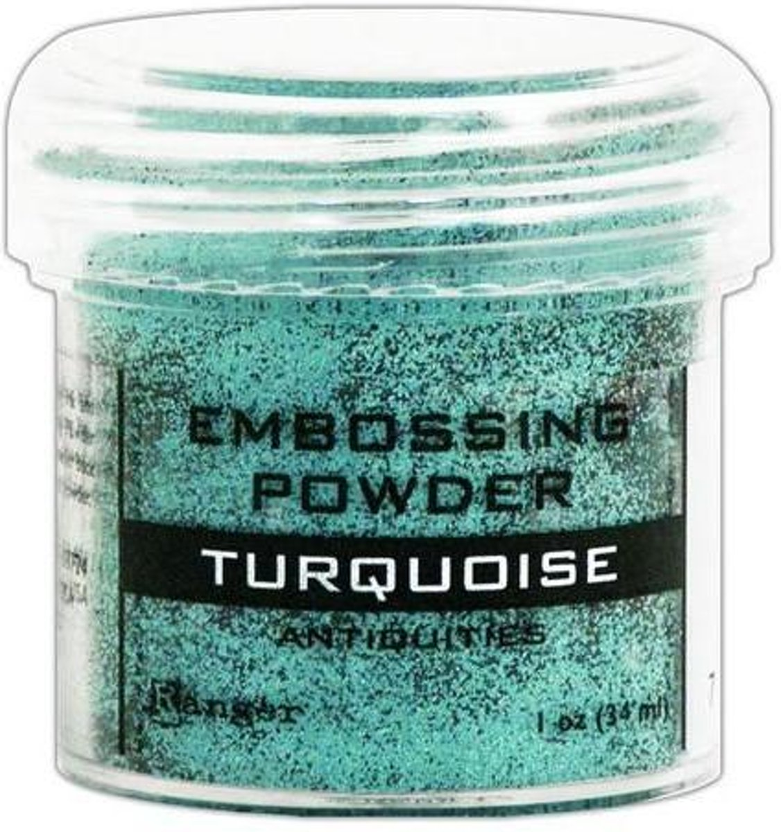 Ranger Embossing Powder 34ml - turquoise