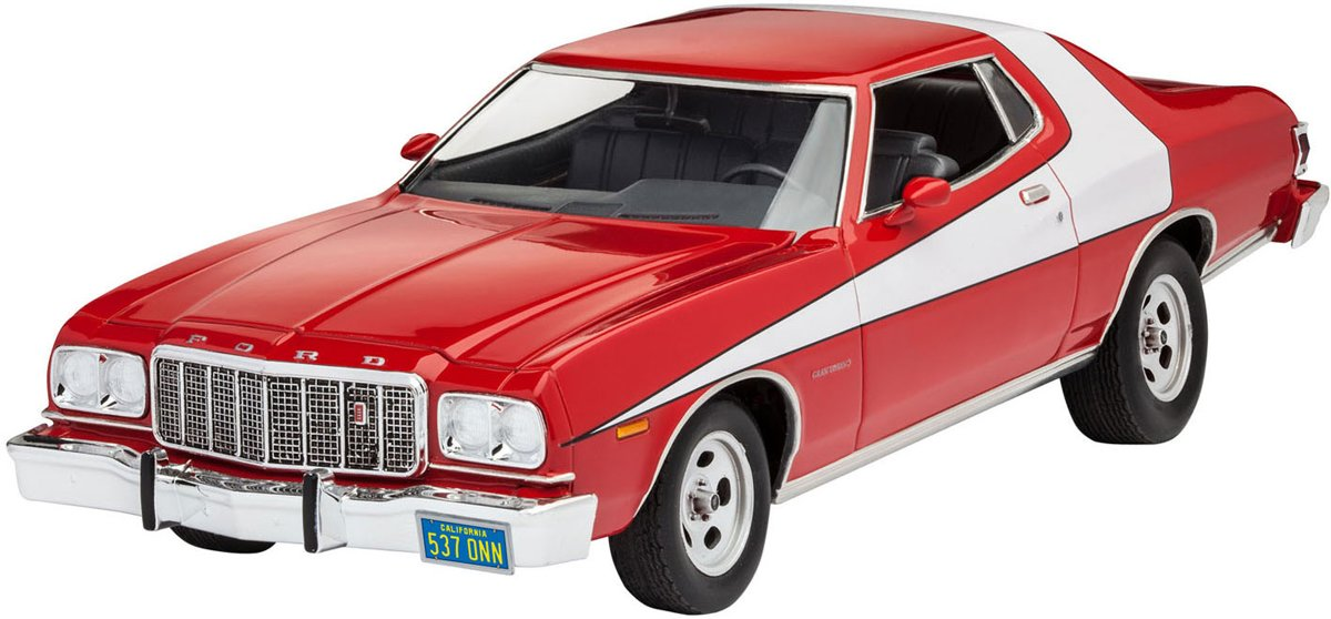 Revell 76 Ford Torino Afmeting verpakking: 35,5 x 21 x 6,5 cm