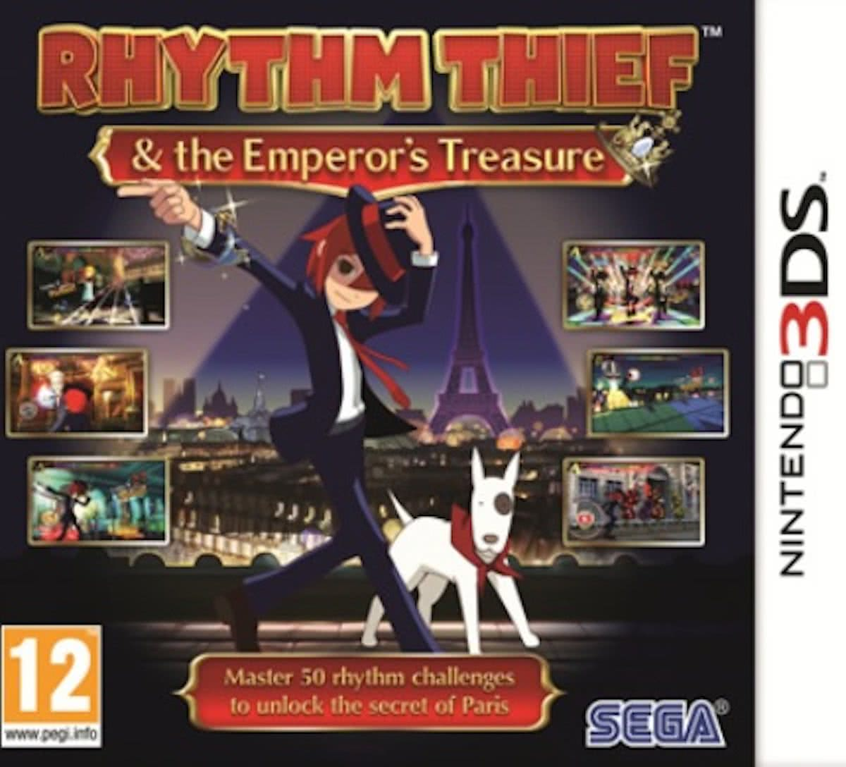 Rhythm Thief: And The Emperors Treasure - 2DS + 3DS