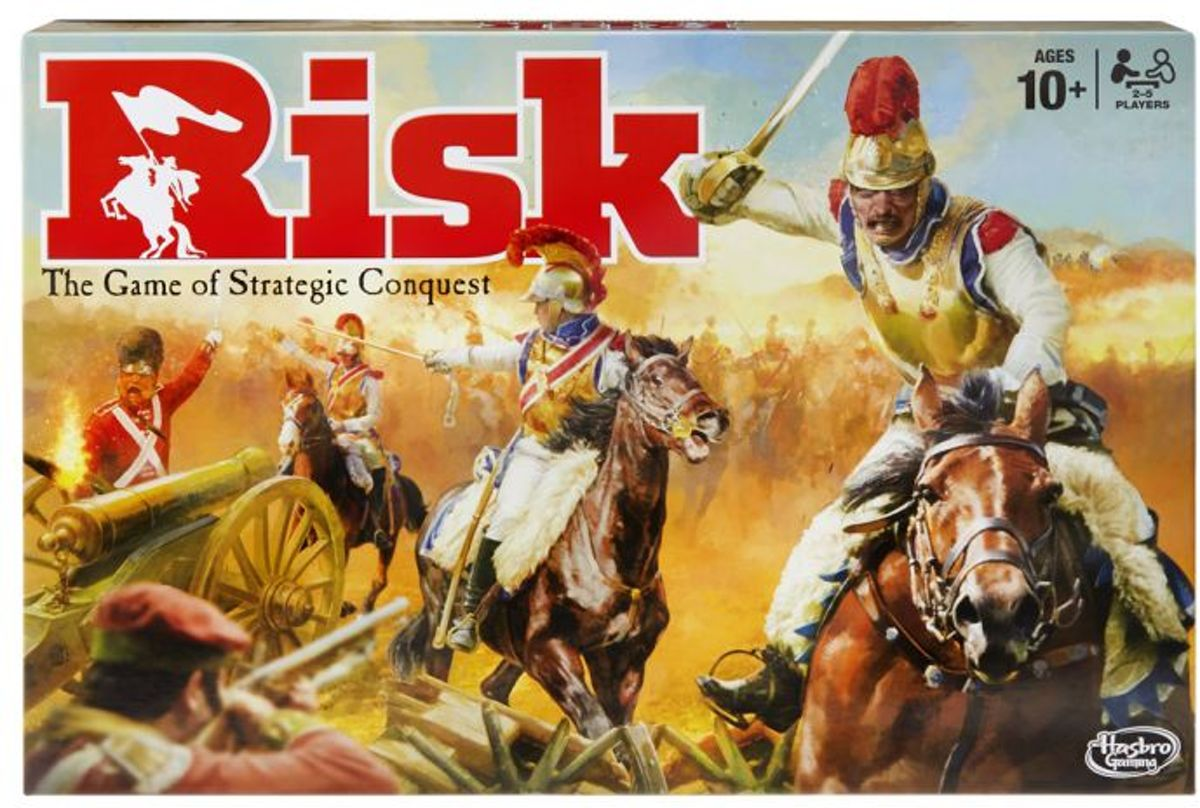 Risk bordspel Hasbro