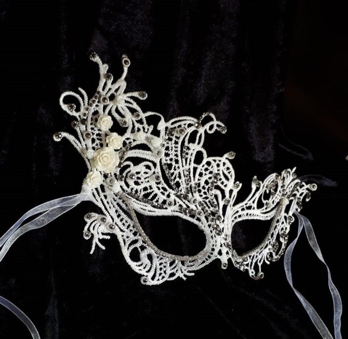 Rose Lace Mask