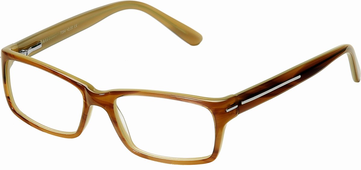 f5c88d23d54596 SILAC - LIGHT BROWN ACETATE - Leesbrillen - 7084 - Dioptrie 1