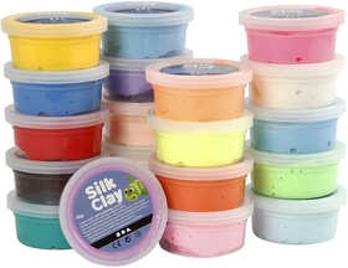 Silk Clay®, Basic 1, 20x40gr