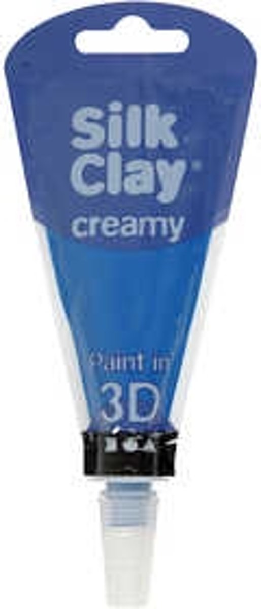 Silk Clay® Creamy , blauw, 35ml