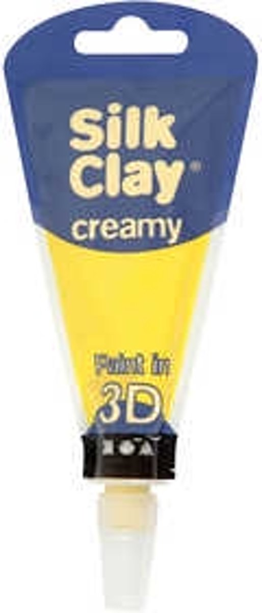 Silk Clay® Creamy , geel, 35ml