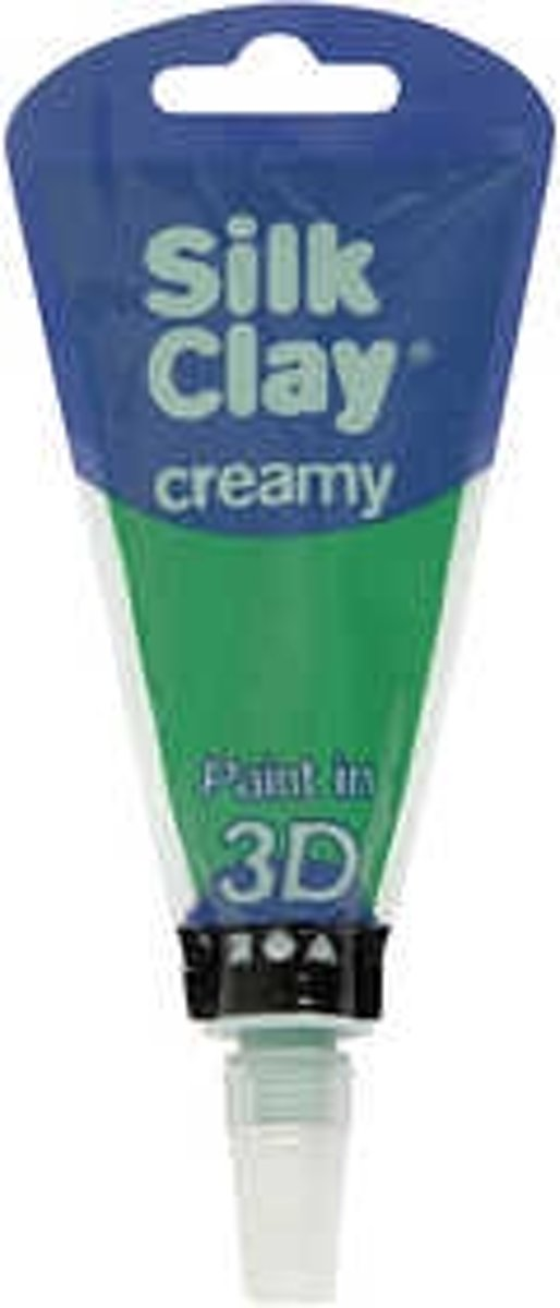 Silk Clay® Creamy , groen, 35ml