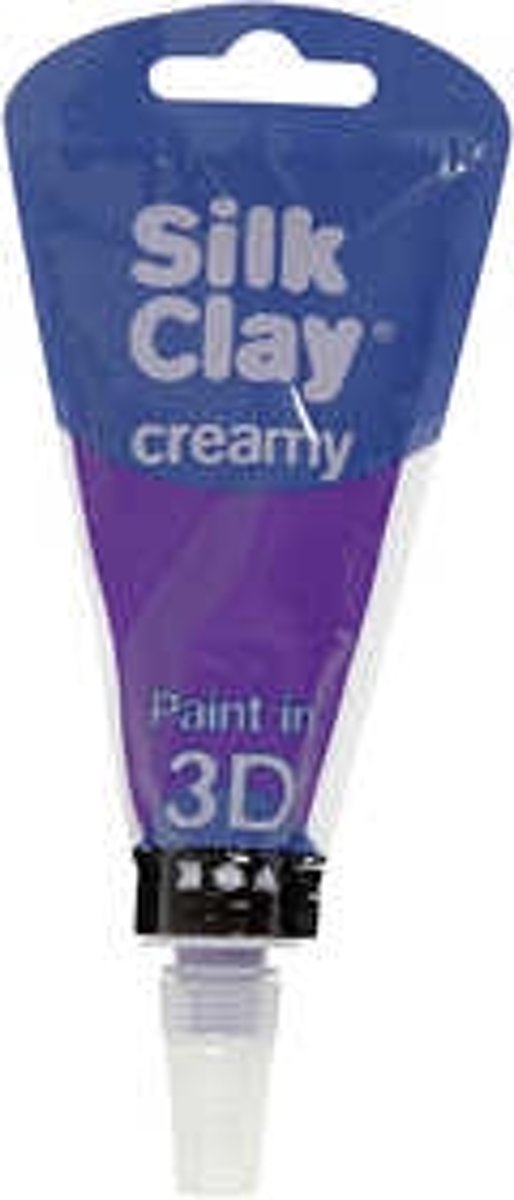 Silk Clay® Creamy , paars, 35ml