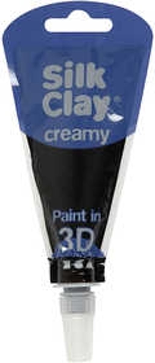 Silk Clay® Creamy , zwart, 35ml