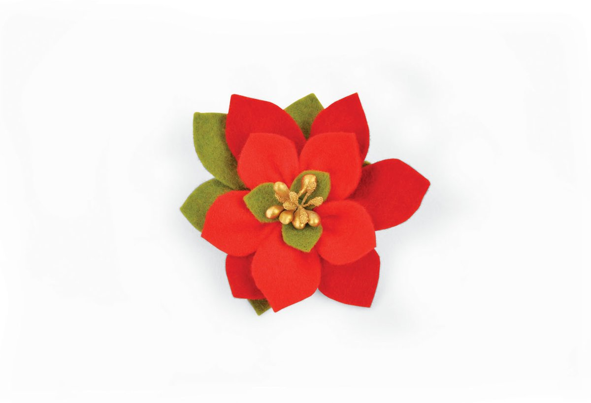 Sizzix Bigz Die Build a Bloom Poinsettia ontworpen door Pete Hughes