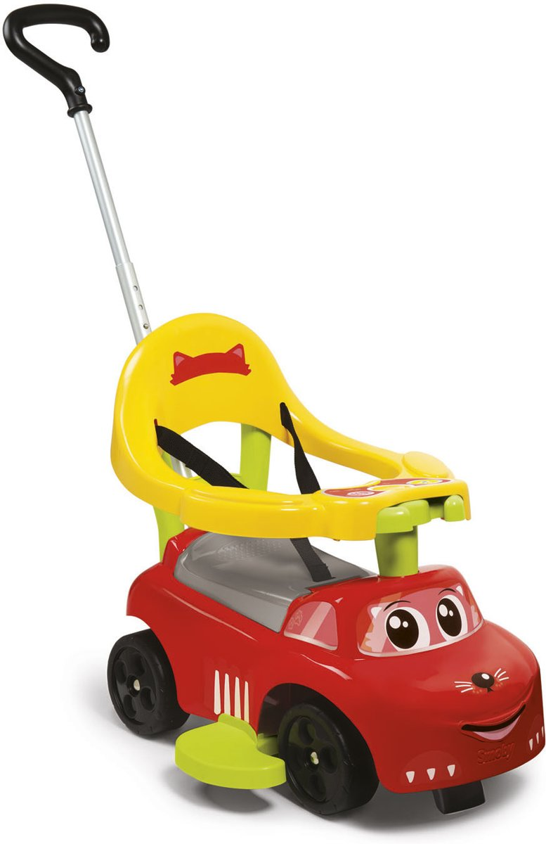 Smoby Ride-On Auto Rood Afmeting artikel: 54 x 47 x 40 cm