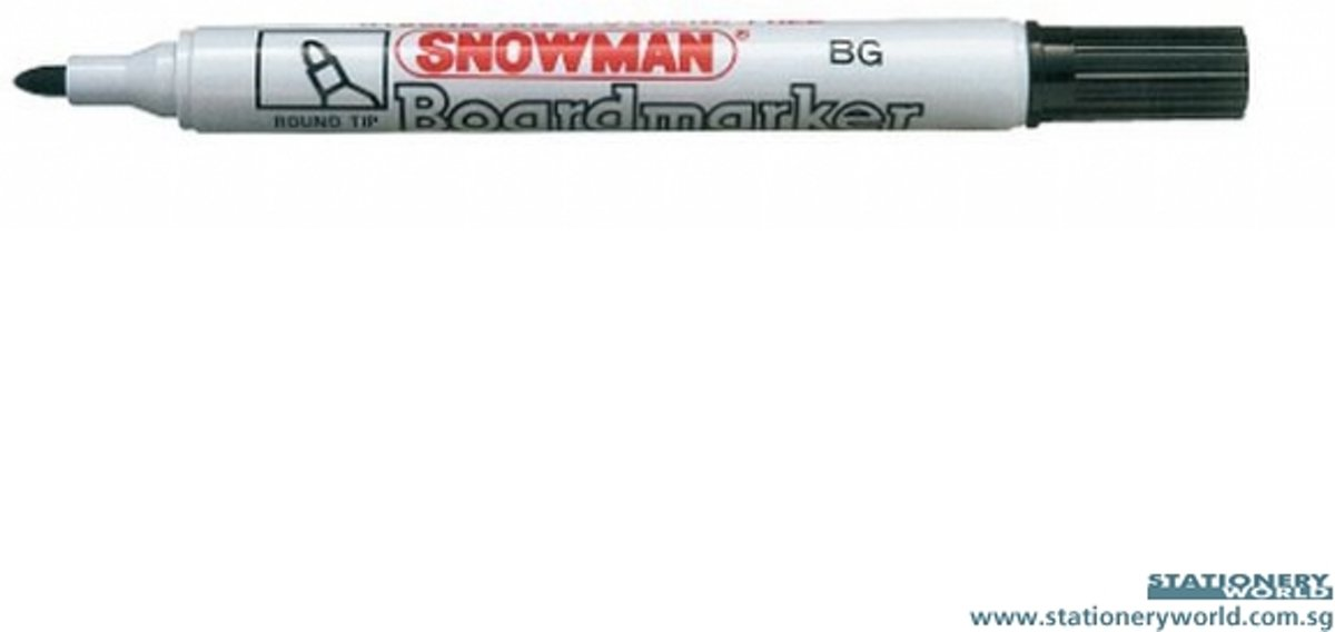 Snowman New Giant permanent marker blauw