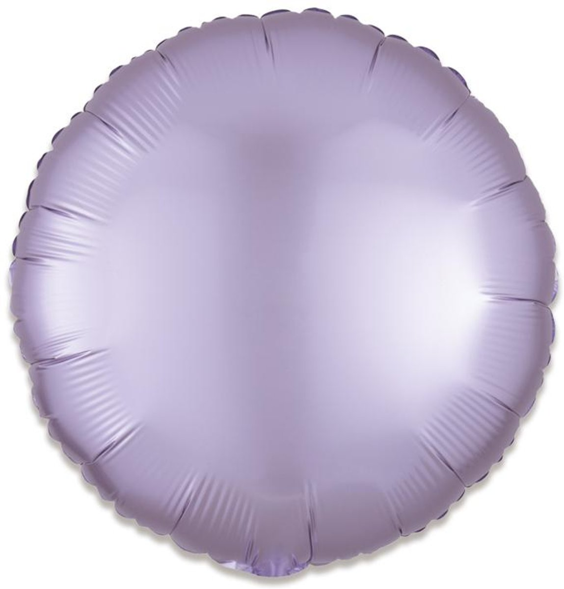 Standard Satin Luxe Pastel Lilac Circle Foil Balloon S15 bul