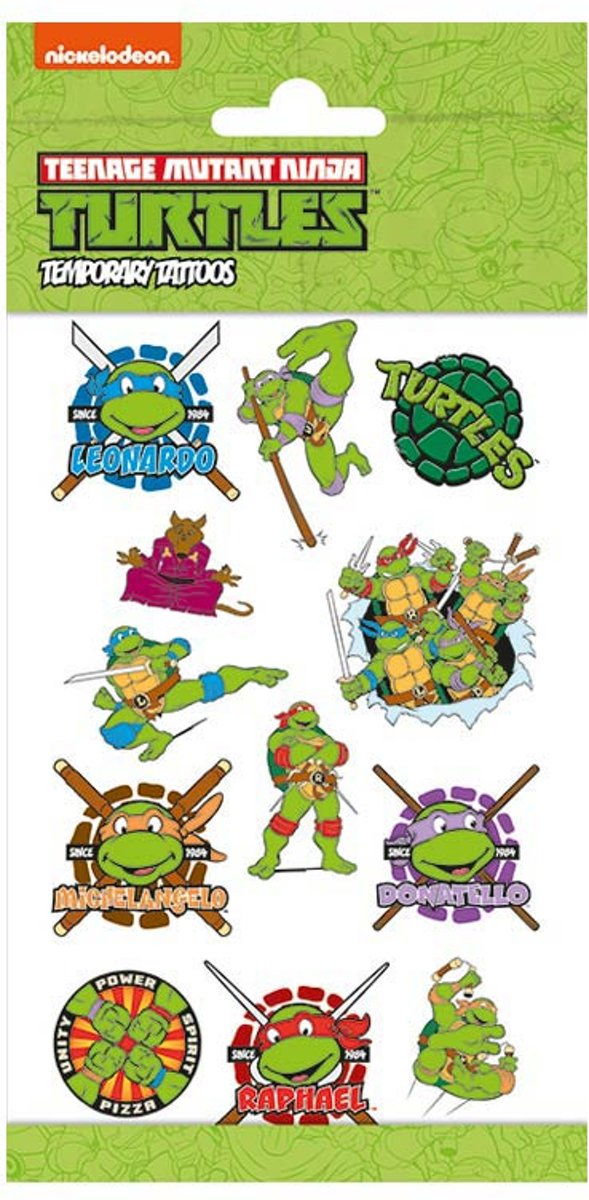 Tattoos Teenage Mutant Ninja Turtles