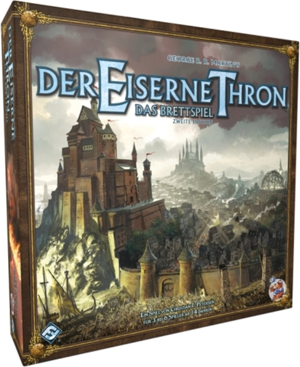 The Iron Throne Board Game 2nd Edition