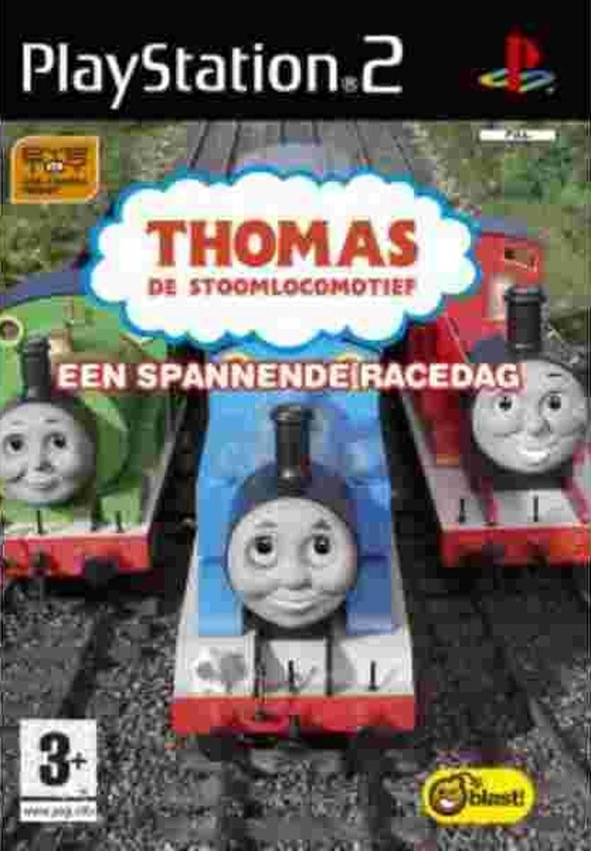Thomas & Friends Day At The Races(Eye Toy Versie)