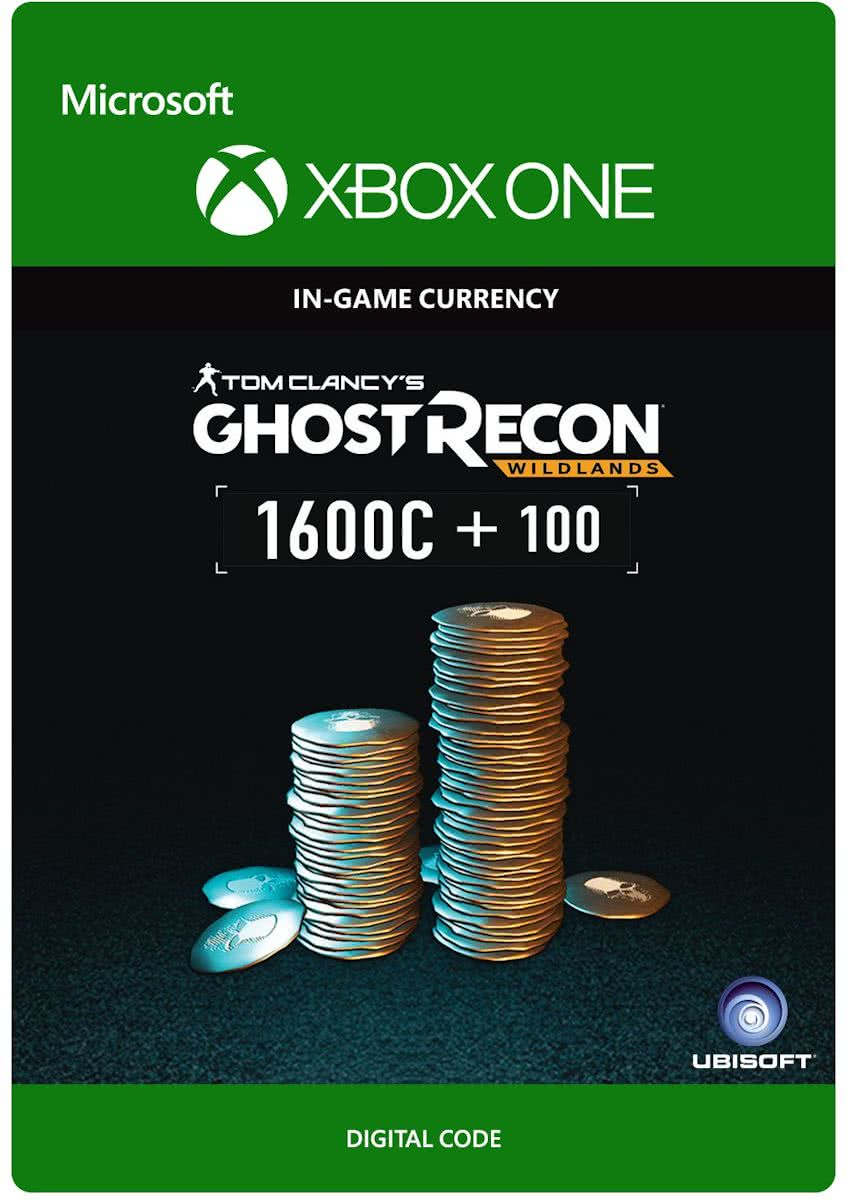 Tom Clancys Ghost Recon: Wildlands - Currency pack 1700 GR credits - Xbox One