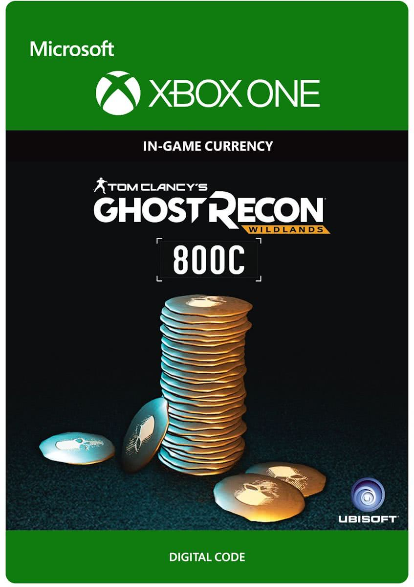 Tom Clancys Ghost Recon: Wildlands Currency pack 800 GR credits - Xbox One