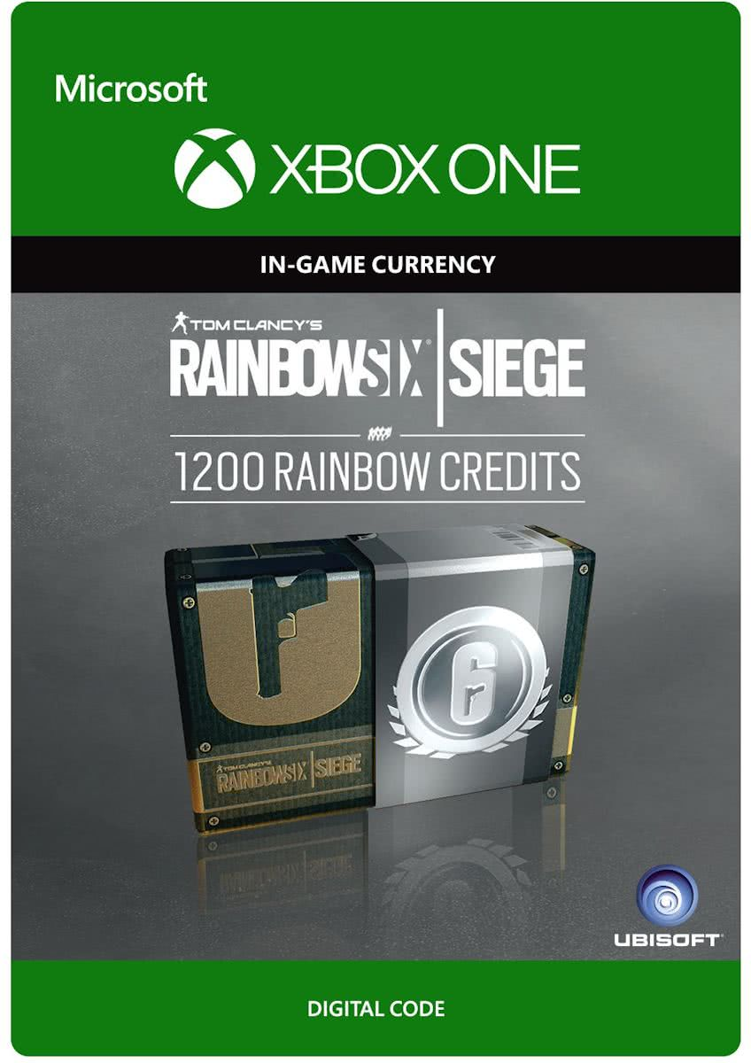 Tom Clancys Rainbow Six Siege - Currency pack 1200 Rainbow credits - Consumable - Xbox One