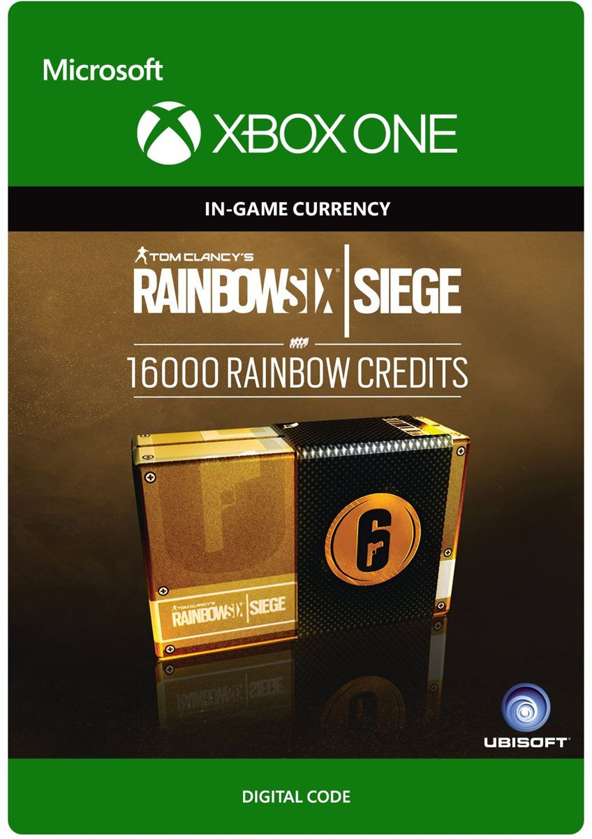Tom Clancys Rainbow Six Siege - Currency pack 16000 Rainbow credits - Consumable - Xbox One