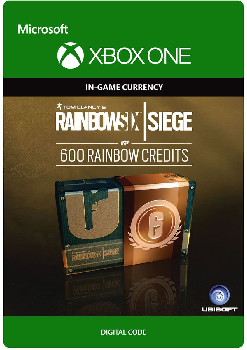 Tom Clancys Rainbow Six Siege - Currency pack 600 Rainbow credits  - Consumable - Xbox One