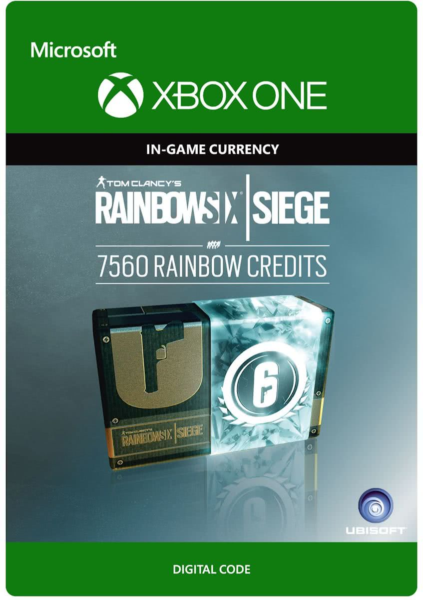 Tom Clancys Rainbow Six Siege - Currency pack 7560 Rainbow credits - Consumable - Xbox One