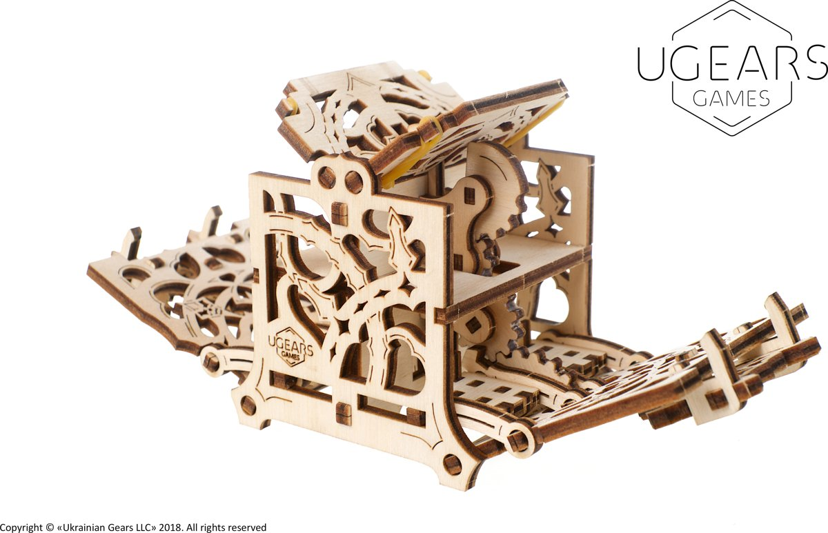 UGears Games hout Dice keeper