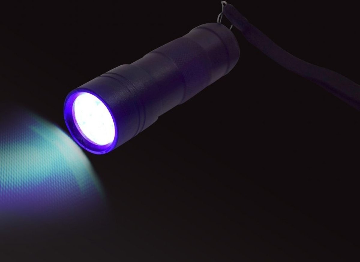UV LED zaklamp - klein