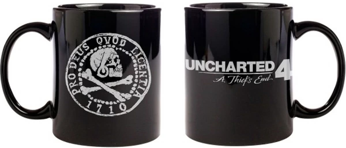 Uncharted 4 Pirate Coin Mug