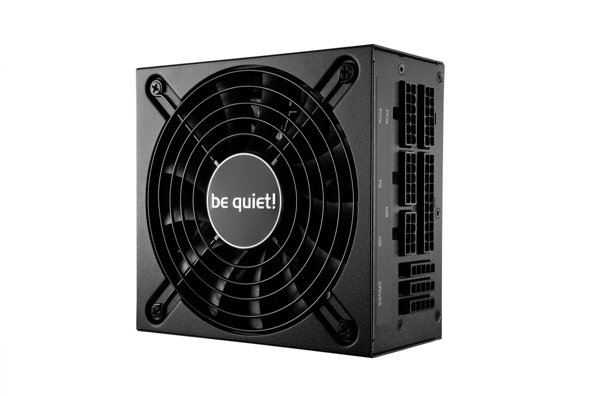 be quiet! SFX L Power 600W power supply unit Zwart